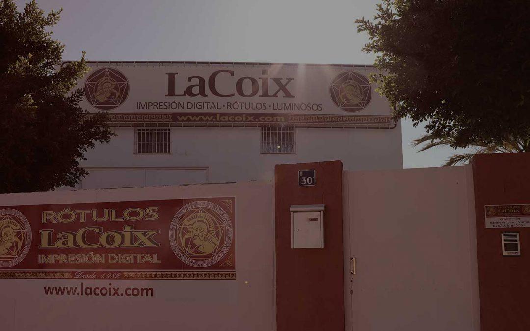Rótulos LaCoix: impresiones digitales